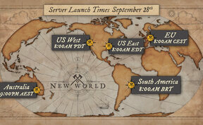 New World New World Launch Times & Twitch Drops